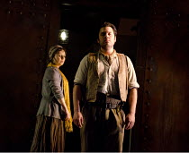IL TABARRO   by Puccini   conductor: Michael Rosewell   design: Neil Irish   lighting: Guy Hoare   director: James Conway ~Julie Unwin (Giorgetta), Charne Rochford (Luigi)~English Touring Opera (ETO)...