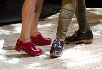THE RED SHOES   adapted by Emma Rice & Mike Shepherd   after Hans Christian Andersen   design: Bill Mitchell   lighting: Malcolm Rippeth   director: Emma Rice ~the shoes of Patrycja Kujawska (The Girl...