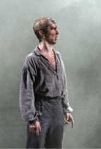 FRANKENSTEIN   by Nick Dear   based on the novel by Mary Shelley   set design: Mark Tildesley   costumes: Suttirat Anne Larlarb   lighting: Bruno Poet   director: Danny Boyle ~Benedict Cumberbatch (Th...