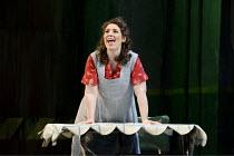 FIDELIO   by Beethoven   conductor: Mark Elder   set design: Robert Israel   costumes: Florence von Gerkan   original director: Jurgen Flimm ~Elizabeth Watts (Marzelline)~The Royal Opera / Covent Gard...