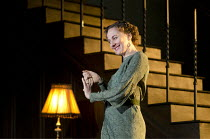 CAUSE CELEBRE   by Terence Rattigan   design: Hildegard Bechtler   lighting: Bruno Poet   director: Thea Sharrock ~Niamh Cusack (Edith Davenport)~Old Vic Theatre (OV), London SE1                 29/03...