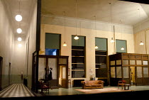 ROCKET TO THE MOON   by Clifford Odets   design: Anthony Ward  lighting: Mark Henderson   director: Angus Jackson   stage   set   empty   props   furniture   lights   building   interior Lyttelton T...