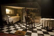 BED AND SOFA   music: Polly Pen   libretto: Laurence Klavan   based on the film by Abram Room   set design: David Woodhead   costumes: Simon Anthony Wells   lighting: Howard Hudson   director: Luke Sh...