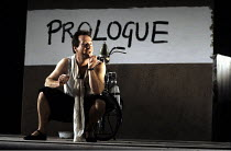 THE GOOD PERSON OF SICHUAN   by Brecht   design: Sue Blane   lighting: Jean Kalman   director: Deborah Warner ~Bill Paterson (Wang) ~Olivier Theatre / National Theatre (NT), London SE1     28/11/1989