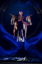 PARSIFAL   by Wagner   conductor: Mark Wigglesworth   set design: Raimund Bauer   costumes: Andrea Schmidt-Futterer   lighting: Duane Schuler   director: Nikolaus Lehnhoff ~Andrew Greenan (Titurel)~En...