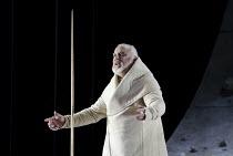 PARSIFAL   by Wagner   conductor: Mark Wigglesworth   set design: Raimund Bauer   costumes: Andrea Schmidt-Futterer   lighting: Duane Schuler   director: Nikolaus Lehnhoff ~John Tomlinson (Gurnemanz)~...