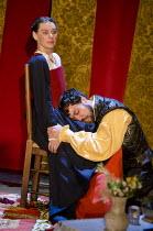 CARDENIO   after Shakespeare & Fletcher   reconstructed by Gregory Doran   design: Niki Turner   lighting: Tim Mitchell   director: Gregory Doran ~Pippa Nixon (Dorotea), Alex Hassell (Fernando)~Royal...