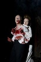 MACBETH   by Shakespeare   design: Tom Piper   lighting: Jean Kalman   director: Michael Boyd ~Jonathan Slinger (Macbeth), Aislin McGuckin (Lady Macbeth)~Royal Shakespeare Company (RSC) / Royal Shakes...