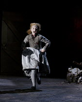 MACBETH   by Shakespeare   design: Tom Piper   lighting: Jean Kalman   director: Michael Boyd ~Isabella Sanders (Child)~Royal Shakespeare Company (RSC) / Royal Shakespeare Theatre     Stratford-upon-A...