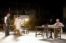THE CHERRY ORCHARD   by Chekhov   in a version by Andrew Upton   design: Bunny Christie   lighting: Neil Austin   director: Howard Davies   l-r: Conleth Hill (Lopakhin), Zoe Wanamaker (Ranyevskaya),...