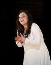 Macbeth   by Verdi   after Shakespeare   conductor: Antonio Pappano   design: Anthony Ward   lighting: Paule Constable   director: Phyllida Lloyd ~sleepwalking scene: Liudmyla Monastyrska (Lady Macbet...