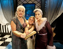 A CAVALIER FOR MILADY   by Tennessee Williams   design: Cherry Truluck   lighting: Phil Hewitt   director: Gene David Kirk   l-r: Janet Prince (The Mother), Caitlin Thorburn (Nance), Lucinda Curtis (...