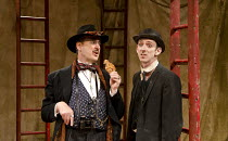 THE ROAR OF THE GREASEPAINT - THE SMELL OF THE CROWD   book, music and lyrics by Leslie Bricusse and Anthony Newley   design: Tim Goodchild   lighting: Mark Doubleday    choreography: Tim Jackson   d...