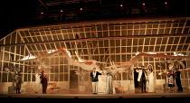 LA VERITA IN CIMENTO   by Vivaldi   conductor: Laurence Cummings   design: Duncan Hayler   lighting: Bruno Poet   director: David Freeman ~closing moments - left: James Laing (Zelim), Diana Montague (...