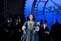 MARIA DI ROHAN   by Donizetti   conductor: Andrew Greenwood   design: Francis O'Connor   lighting: John Bishop   director: Stephen Medcalf ~Mary Plazas (Maria) ~Buxton Festival production   The Opera...