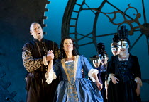 MARIA DI ROHAN   by Donizetti   conductor: Andrew Greenwood   design: Francis O'Connor   lighting: John Bishop   director: Stephen Medcalf ~William Dazeley (Enrico, Duke of Chevreuse), Mary Plazas (Ma...