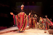 THE TEMPEST   by Shakespeare   design: Illka Louw   lighting: Mannie Manim   director: Janice Honeyman   wedding puppets Baxter Theatre Centre (Cape Town) in association with Royal Shakespeare Comp...