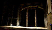 HENRY IV part i   by Shakespeare   set design: Simon Higlett   costumes: Christopher Woods   lighting: Peter Mumford   fight director: Kate Waters   director: Peter Hall ~stage   set   empty~Peter Hal...