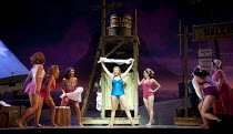 SOUTH PACIFIC   by Rodgers & Hammerstein   sets: Michael Yeargan   costumes: Catherine Zuber   lighting: Donald Holder   musical staging: Christopher Gattelli   director: Bartlett Sher   centre: Sama...