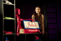 THE TWO GENTLEMEN OF VERONA   by Shakespeare   design: Paul Wills   lighting: Philip Gladwell   choreography: RashDash   director: Matthew Dunster ~Abbi Greenland (Julia)~Theatre Royal / Royal & Derng...