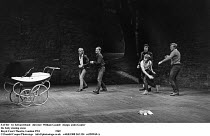 SAVED  by Edward Bond  director: William Gaskill  design: John Gunter ~~the baby stoning scene~Royal Court Theatre, London SW1   1969~(c) Donald Cooper/Photostage   photos@photostage.co.uk   ref/BW-A...