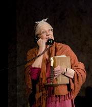 DRIVING MISS DAISY   by Alfred Uhry   set design: John Lea Beatty   costumes: Jane Greenwood   lighting: Peter Kaczorowski   director: David Esbjornson ~Vanessa Redgrave (Daisy Werthan)~Wyndham's Thea...
