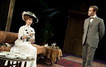 THE IMPORTANCE OF BEING EARNEST   by Oscar Wilde   director: Stephen Unwin ~interviewing Jack: Jane Asher (Lady Bracknell), Daniel Brocklebank (Jack Worthing) ~Rose of Kingston, Surrey, England   05/1...