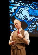 THE PITMEN PAINTERS   by Lee Hall   design: Gary McCann   lighting: Douglas Kurht   director: Max Roberts   Ian Kelly (Robert Lyon) Live Theatre, Newcastle & National Theatre co-production / Duchess...