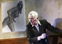 UNDER THE WHALEBACK   by Richard Bean   design: Julian McGowan   lighting: Johanna Town   director: Richard Wilson ~Alan Williams (Cassidy)~Jerwood Theatre Upstairs / Royal Court Theatre, London SW1...