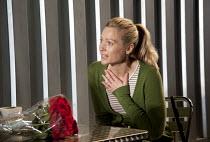 REASONS TO BE PRETTY   by Neil LaBute   design: Soutra Gilmour   lighting: Mark Henderson   director: Michael Attenborough ~Sian Brooke (Steph) ~Almeida Theatre, London N1   17/11/2011