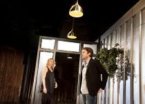 REASONS TO BE PRETTY   by Neil LaBute   design: Soutra Gilmour   lighting: Mark Henderson   director: Michael Attenborough ~Sian Brooke (Steph), Tom Burke (Greg)~Almeida Theatre, London N1   17/11/201...
