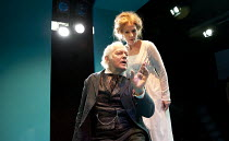 JUDGEMENT DAY   a new version by Mike Poulton of 'When We Dead Awaken' by Ibsen   design: Mike Britton   lighting: Natasha Chivers   director: James Dacre   Michael Pennington (Arnold Rubek), Penny D...