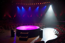 LA SOIREE   stage   empty   podium   seats   lights   spotlight Roundhouse, London NW1   28/11/2011