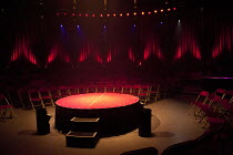 LA SOIREE   stage   empty   podium   seats   lights Roundhouse, London NW1   28/11/2011