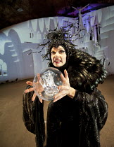HOWL'S MOVING CASTLE   by Diana Wynne Jones   adapted for the stage by Mike Sizemore   design & direction: Davy & Kristin McGuire   lighting: Tim Bray ~Kristin McGuire (Witch of the Waste)~Arts Collec...