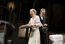 THE LADYKILLERS   in a new stage adaptation by Graham Linehan   design: Michael Taylor   lighting: James Farncombe   director: Sean Foley   Marcia Warren (Mrs Wilberforce), Peter Capaldi (Professor M...
