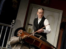 THE LADYKILLERS   in a new stage adaptation by Graham Linehan   design: Michael Taylor   lighting: James Farncombe   design: Michael Taylor   lighting: James Farncombe   director: Sean Foley   l-r: C...
