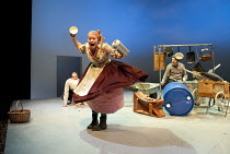 BEASTS AND BEAUTIES   retold by Carol Ann Duffy   dramatised by Melly Still & Tim Supple   design: Melly Still & Anna Fleischle   lighting: Chris Davey   director: Melly Still ~'Toby and the Wolf': Ja...