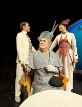 THE IMPORTANCE OF BEING EARNEST - A New Musical   adapted from the comedy by Oscar Wilde   book & lyrics: Douglas Livingstone   music: Adam McGuinness & Zia Morone   director: Iqbal Khan ~l-r: Mark Ed...