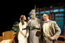 THE IMPORTANCE OF BEING EARNEST - A New Musical   adapted from the comedy by Oscar Wilde   book & lyrics: Douglas Livingstone   music: Adam McGuinness & Zia Morone   director: Iqbal Khan ~front, l-r:...