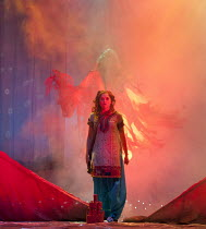 THE FIREWORK-MAKER'S DAUGHTER   by Philip Pullman   adapted by Stephen Russell   design: Jackie Trousdale   lighting: Jason Taylor   director: Phil Clark ~Jennifer O'Neill (Lila) ~Birmingham Stage Com...