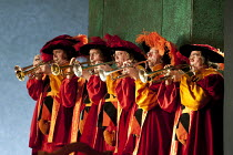DIE MEISTERSINGER VON NURNBERG   by Wagner   conductor: Antonio Pappano   design: Richard Hudson   lighting: Wolfgang Gobbel   director: Graham Vick   onstage musicians The Royal Opera (RO) / Covent...