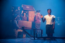 SWALLOWS AND AMAZONS   a new musical play   book: Helen Edmundson   music & lyrics: Neil Hannon   based on the book by Arthur Ransome   design: Robert Innes Hopkins   lighting: James Farncombe   direc...