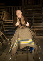 PORT AUTHORITY   by Conor McPherson   design: Francesca Reidy   lighting: Joshua Carr   director: Tom Attenborough ~John Rogan (Joe) ~Southwark Playhouse, London SE1   27/01/2012