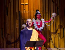WAGNER DREAM   by Jonathan Harvey   conductor: Martyn Brabbins   design: Charlie Cridlan   director: Orpha Phelan ~Roderick Williams (Buddha), Sally Brooks (Vajrayogni)~BBC Symphony Orchestra / Barbic...