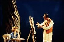 INDIAN INK   by Tom Stoppard   design: Carl Toms   lighting: Mark Henderson   director: Peter Wood ~~Felicity Kendal (Flora Crewe), Art Malik (Nirad Das)~Aldwych Theatre, London WC2   27/02/1995 ~(c)...