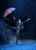 SINGIN' IN THE RAIN   based on the MGM film   screenplay: Betty Comden & Adolph Green   songs: Nacio Herb Brown & Arthur Feed   design: Simon Higlett   lighting: Tim Mitchell   choreography: Andrew Wr...