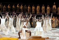 AIDA   by Verdi   conductor: Andrew Greenwood   design: Isabella Bywater   lighting: Andrew Bridge   choreographer: Sarah Fahie   director: Stephen Medcalf ~dancers ~Raymond Gubbay & Royal Albert Hall...