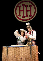 HORRIBLE HISTORIES - BARMY BRITAIN   written by Terry Deary, Neal Foster & Ciaran McConville   design: Jackie Trousdale   lighting: Jason Taylor   director: Neal Foster ~Lauryn Redding, Benedict Marti...