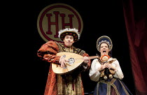 HORRIBLE HISTORIES - BARMY BRITAIN   written by Terry Deary, Neal Foster & Ciaran McConville   design: Jackie Trousdale   lighting: Jason Taylor   director: Neal Foster ~Benedict Martin, Lauryn Reddin...